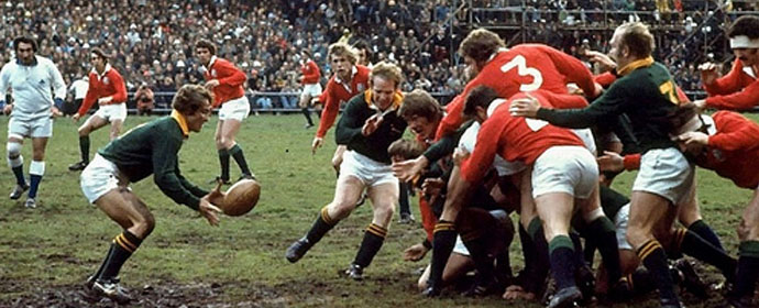 The 1974 British Lions Tour of South Africa