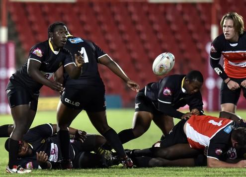 2016 FNB Varsity Steinhoff Koshuis Rugby presented by Steinhoff International, Thursday 24 March 2016, Rand Stadium, Johannesburg Gauteng. UCT vs UJ Wezi Manda of UJ Photo by: Catherine Kotze/SASPA