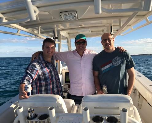 Bodo Sieber, Craig Mason and Craig Kleu - Jupiter Island, Florida 2017