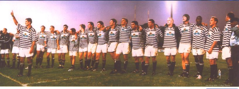 Ikeys vs Maties Intervarsity draw 8:8 at Danie Craven Stadium 2002