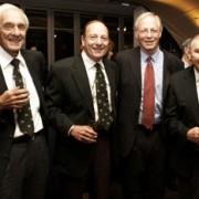 Four jewish boks Joe Kaminer, Syd Nomis, Alan Menter and Doc Moss