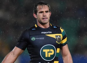 NORTHAMPTON, ENGLAND - OCTOBER 15: Nic Groom of Northampton Saints during the European Rugby Champions Cup match between Northampton Saints and Montpellier at Franklin's Gardens October 15, 2016 in Northampton, United Kingdom. (Photo by Tony Marshall/Getty Images)