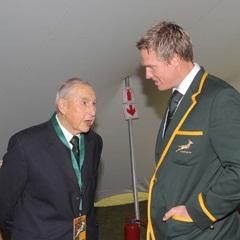 Doc Moss and Jean De Villiers Bok Captain