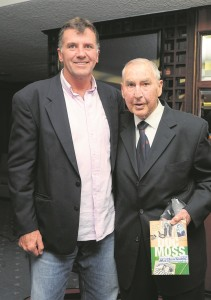 With Carel Du Plessis at his book launch at Newlands