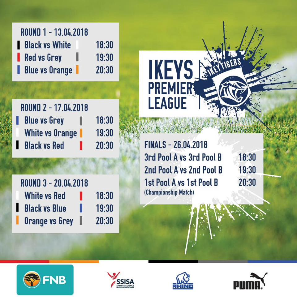 UCT Ikey Tigers Rugby Club - UCTRFC | Ikeys Premier League 2018